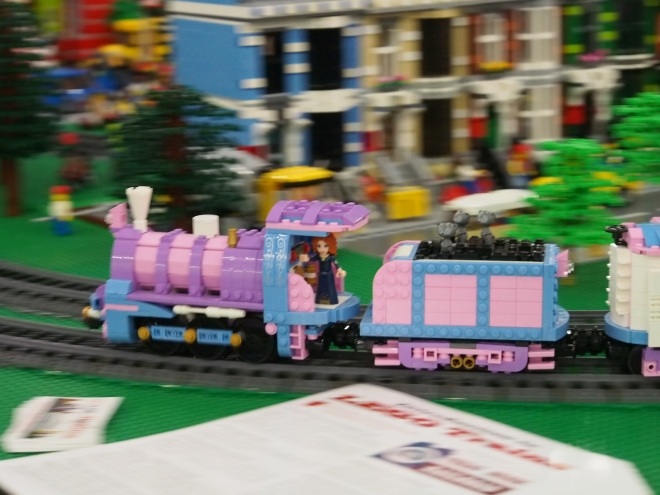 Princess Train in motion