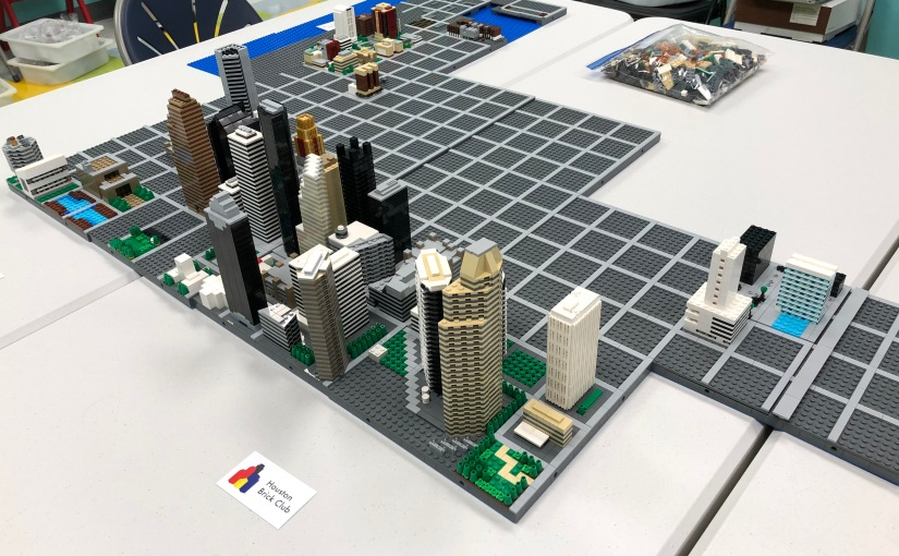 Downtown Houston … in LEGO® bricks!